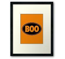 BOO - Version 2 Framed Print