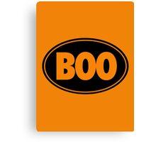 BOO - Version 2 Canvas Print