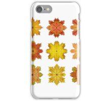 Autumn Maple Leaf Stars iPhone Case/Skin