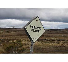Passing Place Photographic Print