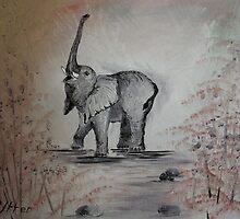 The Lucky Elephant by Pavlina