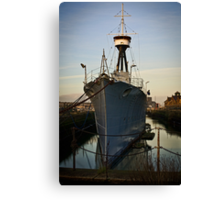 Alexandra Drydock No.2 Canvas Print