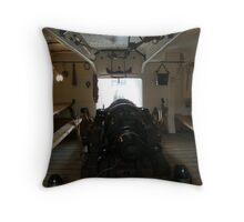 Below decks Throw Pillow