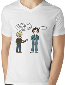 But it's the Solar System, Sherlock Mens V-Neck T-Shirt