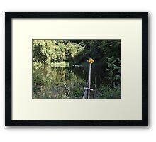 Wanderweg Framed Print