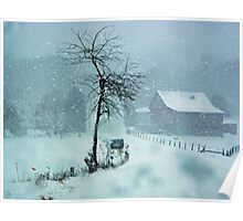 Snow Storm in PA Poster
