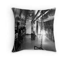 Stoke the Boilers Throw Pillow