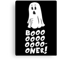Boner Ghost Canvas Print