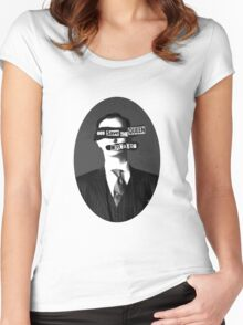 God Save The Queen, Mycroft #2 Women's Fitted Scoop T-Shirt