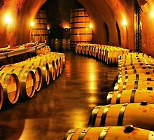 Inside the Winery by Barbara  Brown
