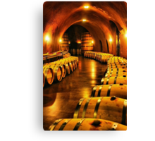 Inside the Winery Canvas Print