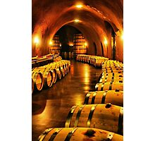 Inside the Winery Photographic Print
