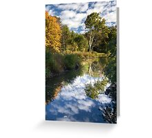 Channel to the White Tree Greeting Card