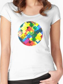 Maps Women's Fitted Scoop T-Shirt