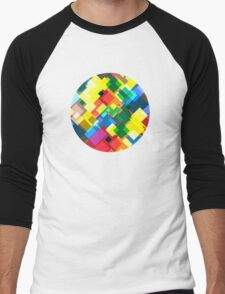 Maps Men's Baseball ¾ T-Shirt
