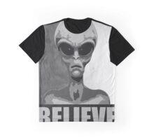 Believe (black/white version) Graphic T-Shirt