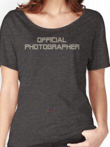 unOFFICIAL PHOTOGRAPHER Women's Relaxed Fit T-Shirt