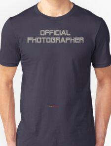 unOFFICIAL PHOTOGRAPHER T-Shirt