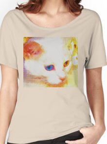Cat portrait Women's Relaxed Fit T-Shirt
