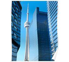 Skydome and Blue Toronto Poster