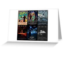 Black Box Films Poster Collage Greeting Card