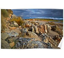 Rocky Foreshore Barwon Heads Poster