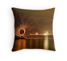 Kwinana Beach Spin Throw Pillow
