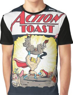 Action Toast Graphic T-Shirt