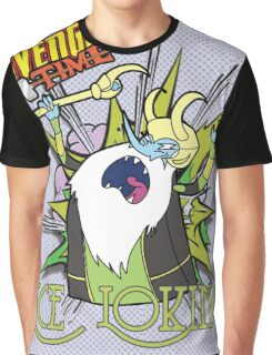 Ice Loking - Avenger Time Graphic T-Shirt