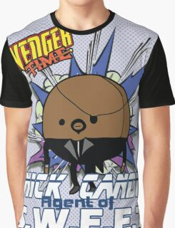 Nick Candy Agent of S.W.E.E.T - Avenger Time Graphic T-Shirt