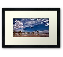 Outback Suprise - Wilcannia, NSW Framed Print