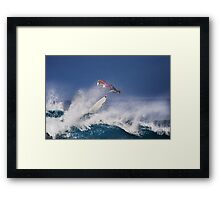 Pipeline Surfer 2 Framed Print