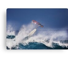 Pipeline Surfer 2 Canvas Print