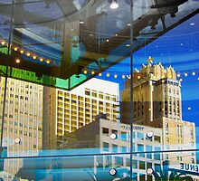 Union Square Reflections by David Denny
