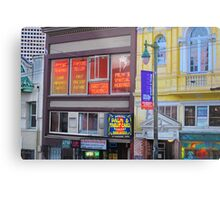 North Beach Fortune Teller Metal Print
