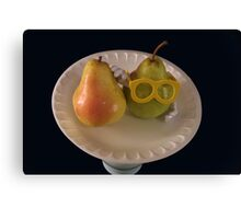 Pear Parody .07 Canvas Print
