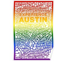 Experience Austin Rainbow SPECIAL EDITION Poster