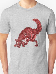 Red Wolf Unisex T-Shirt