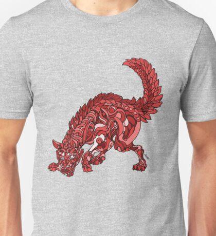 Red Wolf Unisex T-Shirt