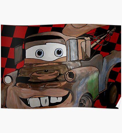 Tow Mater Poster
