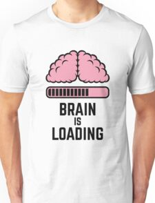 Brain Is Loading (Pink) Unisex T-Shirt