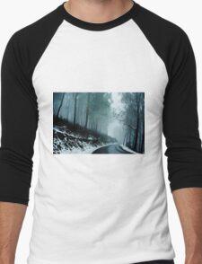 0233  Into a cold dark place   [e] Men's Baseball ¾ T-Shirt
