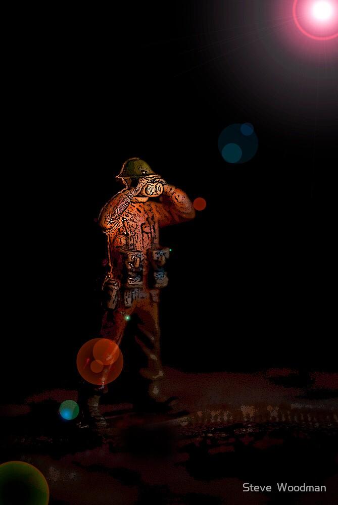 Forward Observer by Steve  Woodman