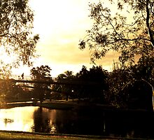 Torrens River, Adelaide, SA by aoing