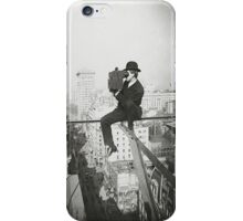 Photographing NYC Above 5th Avenue (1905) iPhone Case/Skin