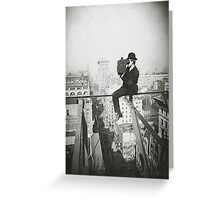 Photographing NYC Above 5th Avenue (1905) Greeting Card