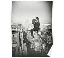 Photographing NYC Above 5th Avenue (1905) Poster