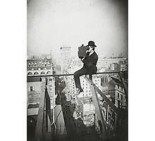 Photographing NYC Above 5th Avenue (1905) Photographic Print