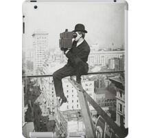 Photographing NYC Above 5th Avenue (1905) iPad Case/Skin