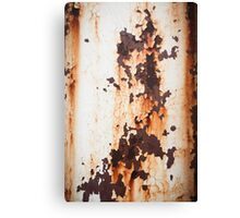 Old Paint Rusty Metal Canvas Print
